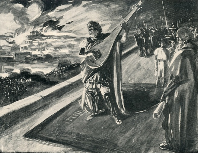 Kiwi Hellenist: Did Nero fiddle while Rome burned?