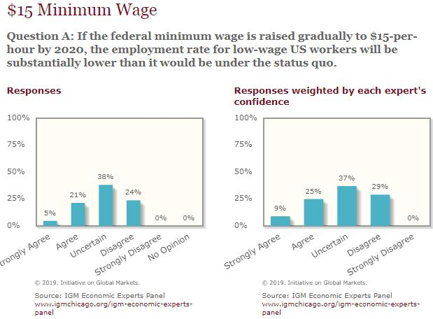 mainly macro: Views on the minimum wage show economics to be an inexact  science